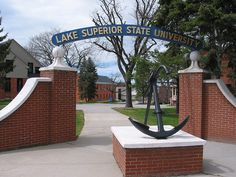 Home sweet home for 5 years - Lake Superior State University in Sault Ste. Hope College, State College, College Campus, College Life, State University, State Of Michigan, Lake Michigan, Sault Ste Marie, Places In America