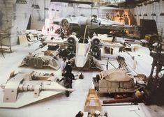 Star Wars Set, Star Wars Film, Star Trek, Princesa Leia, Star Wars Design, Star Wars Models, Star Wars Pictures, The Empire Strikes Back, Love Stars