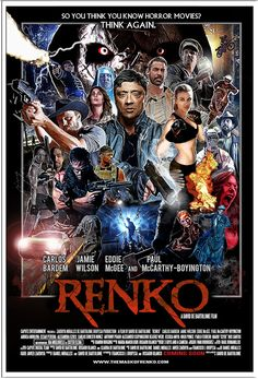 RENKO POSTER VERSION 1 by writer&director David De Bartolome. 2015-16. Coming soon. Late 2016.