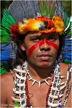 Capo Guarani del Brasile