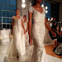 Finale to Anna Campbell at One Fine Day during NYC Bridal Fashion Week October 2016. Click to view video • • • • #bridalmarket #bridalfashionweek #nybridalmarket #newyorkbridalfashionweek #bride #ido #wedding #soontobe #gettingmarried #bridalfashion #bridalgown #bridaldress #bestnightever #weddingwednesday #wedding #instabride #bridetobe #weddingdress #weddinggown #bridalinspiration #brideinspo #nybfw #nybfw2016 #nyfwbridal #annacampbell #ofbridalmarket