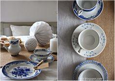 Vintage Tischdeko