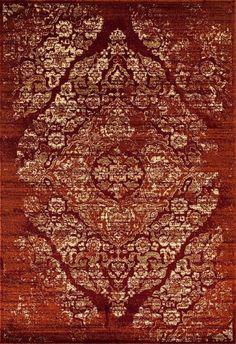 Burgundy Oriental Rugs | Distressed Vintage Rug | Clearance Area Rugs - Bargain Area Rugs