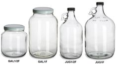 Specialty Bottle - Gallon Jars & Jugs at most $4.22 each (drink container, instead of pitcher)
