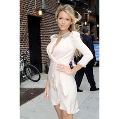 Blake Lively Short Cocktail Dress Late Show with David Letterman -600x600.jpg (600×600)