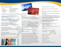 HERITAGE BANK BROCHURE (outside): If you are interested in getting ...