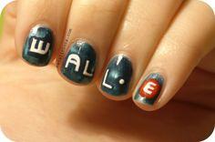 wall-e #nail #nails #nailart