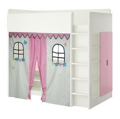 This is so super cute if we got the Stuva loft bed from Ikea