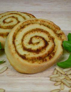 Pesto-Schnecken aus Hefeteig von koch-kinoDE