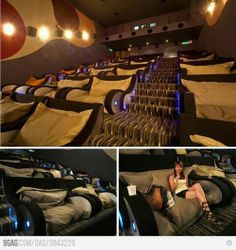 BEST MOVIE THEATER EVER....I need more of these around, cause I'm sure this isn't even in the US