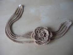collier crochet - Recherche Google