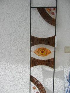 Weidenflechten Willow Weaving, Textiles, Kandinsky, Tapestry Weaving, Ladder Decor, Diy And Crafts, Floral, Nature, Outdoor