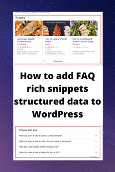 In this video I will show you How to add Faq Rich Snippets Structured Data to WordPress and increase search engines visibility. BTW this technique may be applied to any CMS not only WodPress like HTML based website, php, Prestashop, WooCommerce and etc. What Are Schemas, What Are Structures, Seo Tutorial, Diy Skin Care, Search Engine Optimization, Wordpress, Engineering, How To Apply, Ads