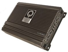 """Quantum QB4150 Beta Series 4 Channel Stereo Amplifier by Quantum. $92.16. Beta Series 4 Channel Stereo Amplifier with class """"AB"""" circuitry, Rated at 14.4 volts, 4 x 150 watts @ 4 ohms, 2 x 600 w @ (Bridged), 4 x 300 w @ 2 ohms, QSINK heat management system, Buffered pre-amp input circuitry, Continuously variable 12dB bass boost @ 45Hz, Continuously variable subsonic filter( 15-55Hz) (Mono Amps), Direct-connect integrated speaker and power wire terminals, Full rang..."""