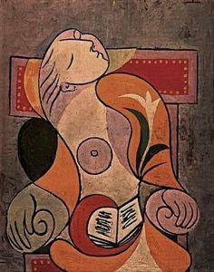 Pablo Picasso La lectue, 1932 https://scontent-yyz1-1.xx.fbcdn.net/v/t1.0-9/23130753_709249899265777_4447526409719589617_n.jpg?oh=211ee6eb3833d17369317a34f2e573df&oe=5AA076A6