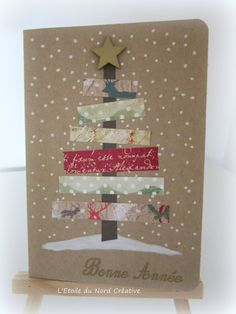 Christmas Arts And Crafts, Homemade Christmas Cards, Christmas Cards To Make, Xmas Cards, Handmade Christmas, Holiday Crafts, Christmas Time, Christmas Decorations, Creative Cards