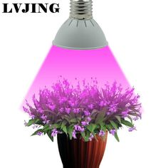 Luxury Full Spectrum E W Red uBlue LED Grow Lights Hydroponics Plant Lamp Best For Growing and Flowering