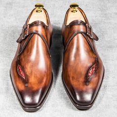 Derby loop Altan Shoemaker - Monk strap shoe Derby Altan Shoemaker