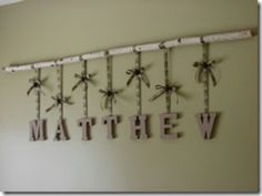 camo wall decor this would look cute in the boys room