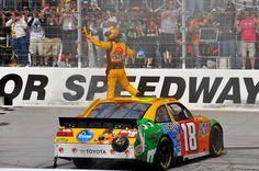 Where the best NASCAR drivers win the most races  -  April 10, 2017:      KYLE BUSCH, 38  Both of the Busch brothers are five-time winners at Bristol.