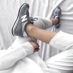 Sneakers women - New Balance grey (©jacquiealexander)