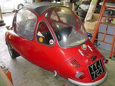 60 Heinkel Trojan Bubble Car