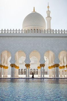 Sheikh Zayed Mosque, Abu Dhabi Photo by Lori Barbely — National Geographic Your Shot