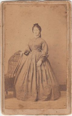 Civil War CDV Emma Drocker Tax Stamp by LangdonsListPhotos on Etsy, $4.00
