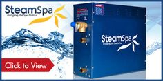 Enjoy the luxury of a steam sauna in your home! Order your steam shower kit and accessories today from http://steamsaunadepot.com/