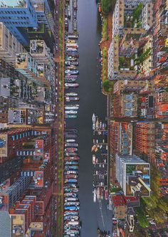 Airpano reveals exactly what it'd be like to soar through the world's ever-changing skies. Pictured: Amsterdam, The Netherlands. #photography #aerial