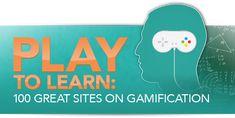 Juega a aprender. 100 sitios relacionados como Gamification, aplicación de los métodos del juego al aprendizaje.