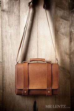 Theres nothing like a well built, durable leather briefcase and Mr. Lentz makes one of the best. Designed for a lifetime of use, this leather briefcase