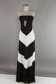 chevron maxi dress | Chevron Maxi Dress | BHaute