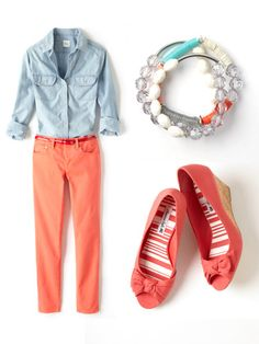Add some color to work for the upcoming Spring.