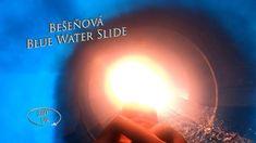Bešeňová Blue Water Slide 2 (Indoor) 360° VR POV Onride Water Slides, Vr, Indoor, Blue, Interior