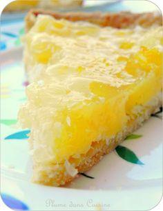 tarte coco-ananas citron vert maïzena 1 kg d ananas en boite - Sweet Recipes, Cake Recipes, Snack Recipes, Dessert Recipes, Easy Smoothie Recipes, Sweet Pie, Coconut Recipes, Snacks, Fall Desserts