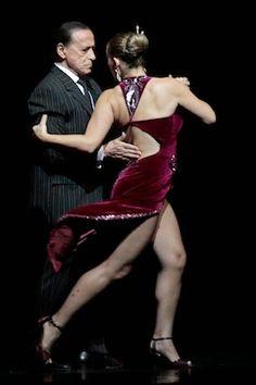 Juan Carlos Copes y Johanna Copes (los Copes padre e hija) - Bailan en Tango Porteño