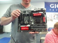 We were just at a secret event where GIGABYTE revealed their entire Intel 8 Series boards to us!