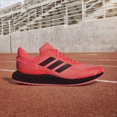 adidas 4D Run 1.0 Shoes - Pink | adidas US Adidas Running Shoes, Adidas Sneakers, Run 1, Pink Adidas, Comfy Shoes, Fashion, Style, Moda, Adidas Trail Running Shoes