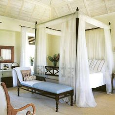 Tropical Bedroom Photos Design, Pictures, Remodel, Decor and Ideas - page 52 Decor, Home Bedroom, Bedroom Design, Tropical Bedrooms, Dreamy Bedrooms, Bedroom Decor, Beautiful Bedrooms, Home Decor, Home Deco