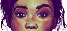 Portrait Painting, Digital, By TomCii (Me) Fine Art Prints, Canvas Prints, Canvas Art, Drawing Exercises, Color Studies, Learn To Draw, Art Blog, Phone Apple, Apple Smartphone