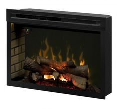 """Dimplex - Electric Fireplaces » Fireboxes & Inserts » Products » 33"""" Multi-Fire XD Electric Firebox"""