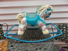 Vintage 1950's Wonder by Gabriel Shoo-Fly Rocking Horse Rock Spring VERY NICE