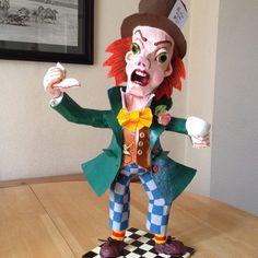 Mad Hatter Alice in Wonderland bespoke one by RichardsBespokeArt