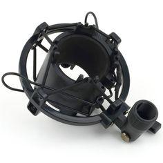 Universal 3KG Bearable Load Mic Microphone Shock Mount Clip Holder Stand Radio Studio