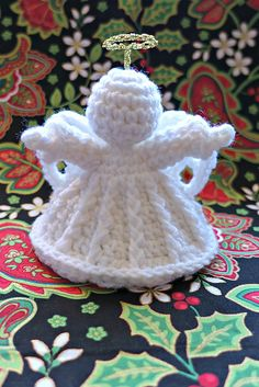 [Free Pattern] This Loving Crochet Angel Ornament Makes A Unique And Stunning Table Top
