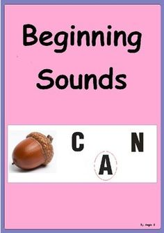 Beginning Sounds- 50% off today!