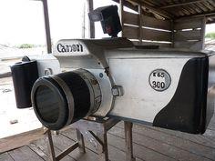 Camera coffin.  Ghana