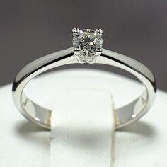 Inel din aur alb cu diamant model i026 Aur, Model, Engagement Rings, Elegant, Jewelry, Design, Enagement Rings, Classy, Wedding Rings