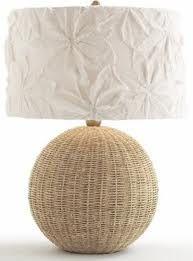 wicker lamp base - Google Search